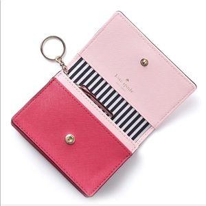 kate spade Bags - Kate Spade Leather Wallet Key Chain